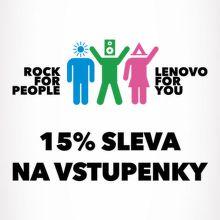 Pojeďte na Rock for People s Lenovem