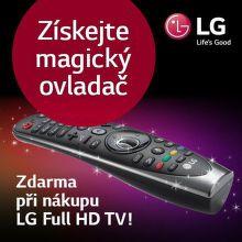 Zakupte televizor LG a získejte magický ovladač zdarma