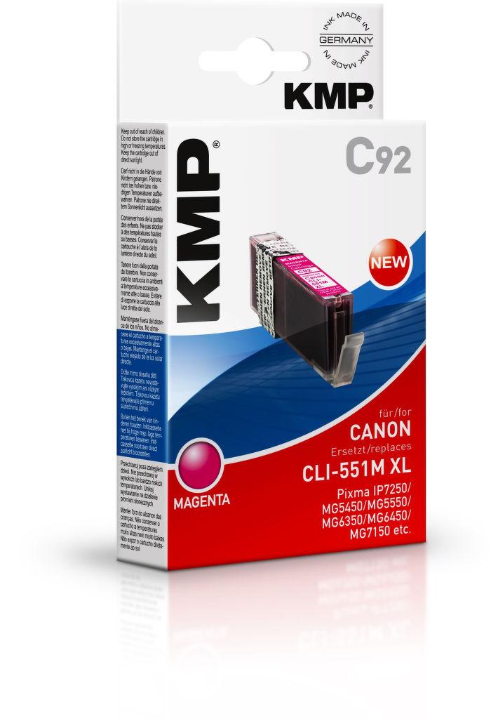 KMP C92 komp.recykl.napln CLI-551M XL