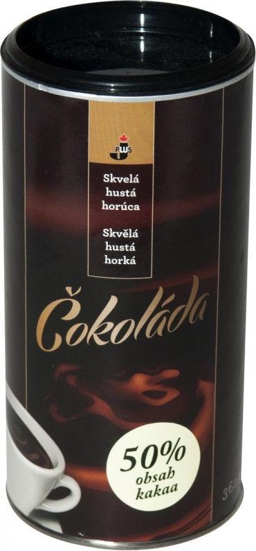 JPS Horká tmavá čokoláda s 50% kakaa (360g)