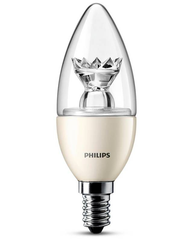 Philips LED 25W E14 WW 230V B39 CL ND / 4
