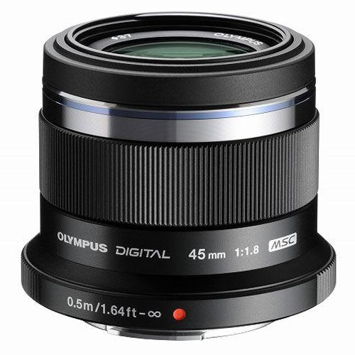 Olympus M.Zuiko ET-M4518 45mm (černý) - objektiv