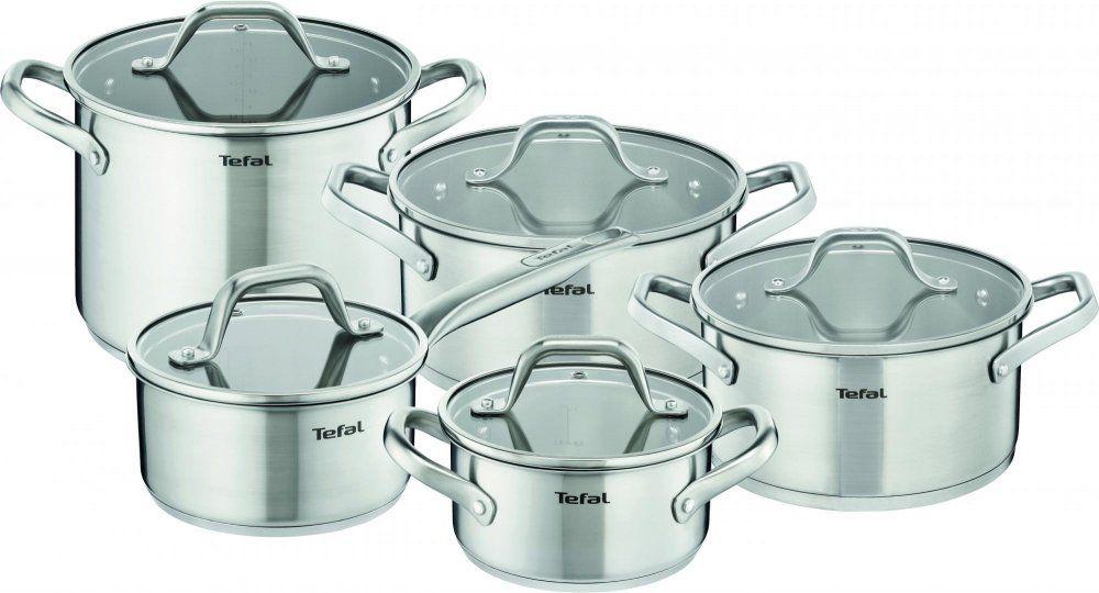 Tefal E825SC84 nerezová sada nádobí (10ks)