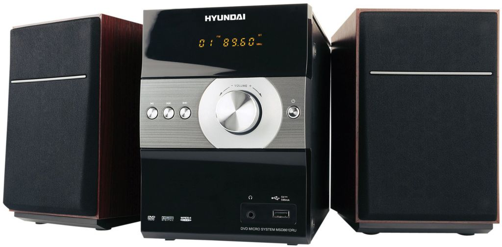 Hyundai MSD 861 DRU (černý)