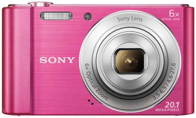Sony CyberShot DSC-W810 (růžový)