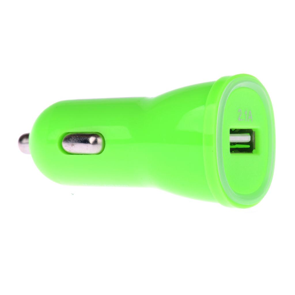 Winner micro-USB autonabíječka + datový micro-USB kabel (zelená)
