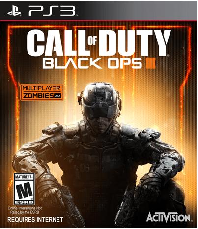 PS3 Call of Duty: Black Ops III