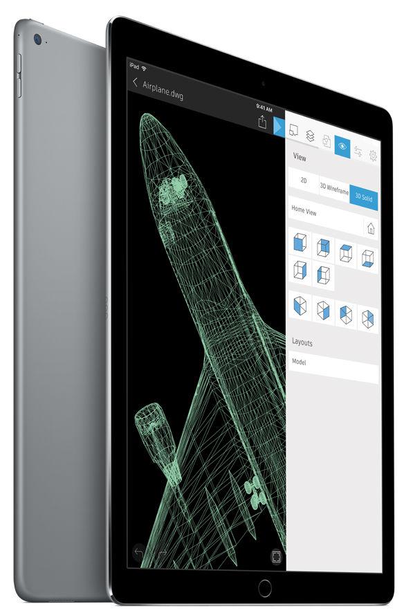 """Apple iPad Pro 12.9"""" Wi-Fi 32GB (vesmírně šedý), ML0F2FD/A"""
