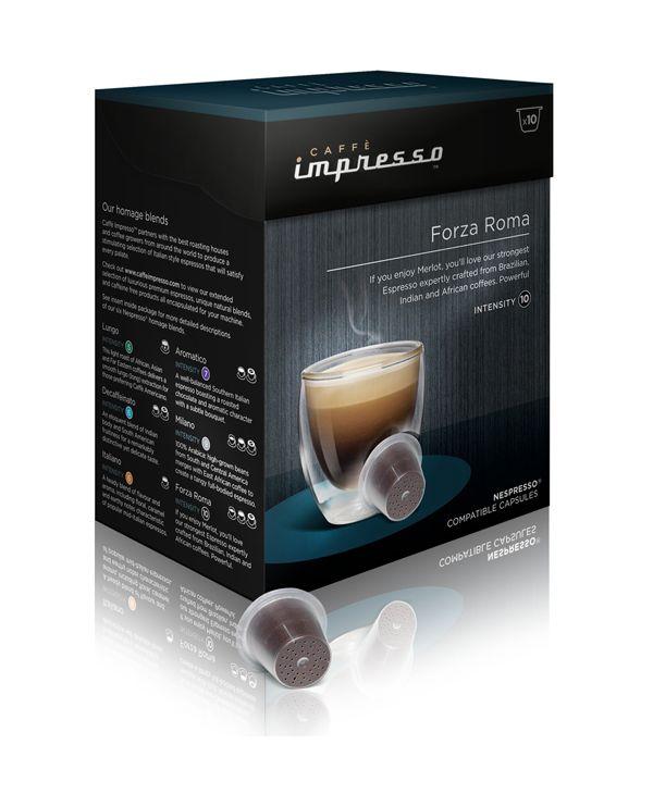 Caffe Imprresso Forza Roma - káva na kapsle