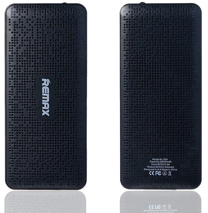 Remax AA-1102 Pure - power banka 10.000mAh (černá)