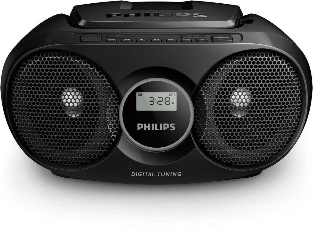 Philips AZ215R (čierny)