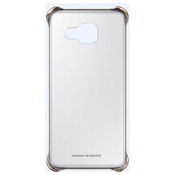 Samsung EF-QA310CF Clear Cover A3, A310 (zlatý)