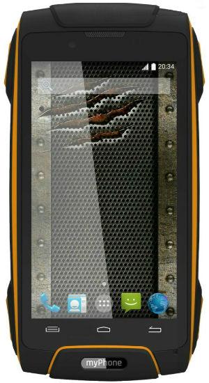 MyPhone Hammer AXE 3G oranžově černý