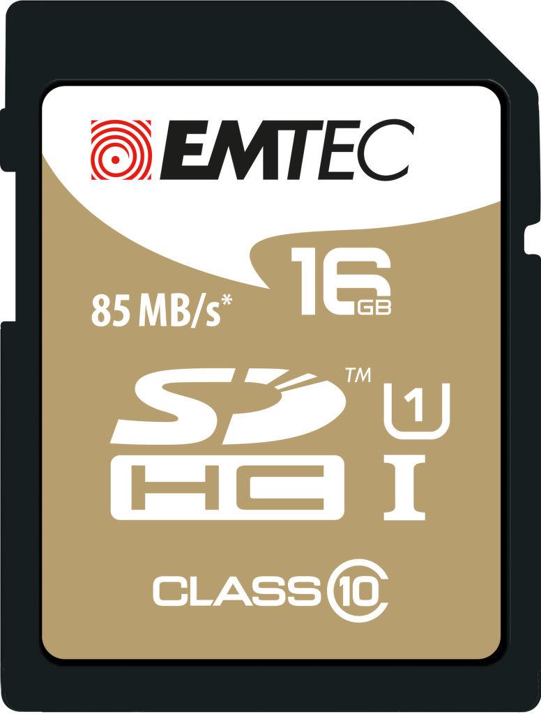 Emtec 16GB SDHC Class10