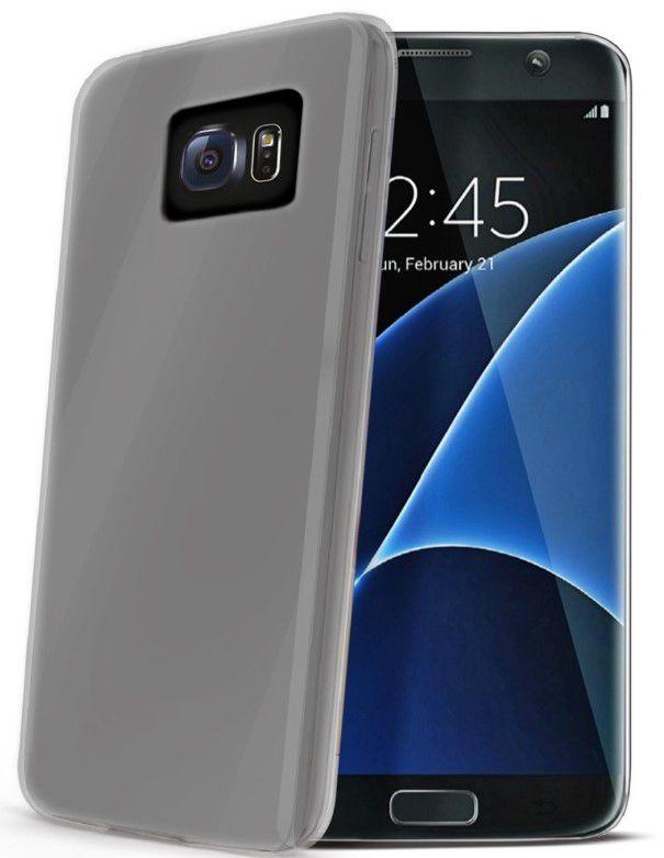 Celly TPU pouzdro Samsung Galaxy S7 Edge (transparentní)
