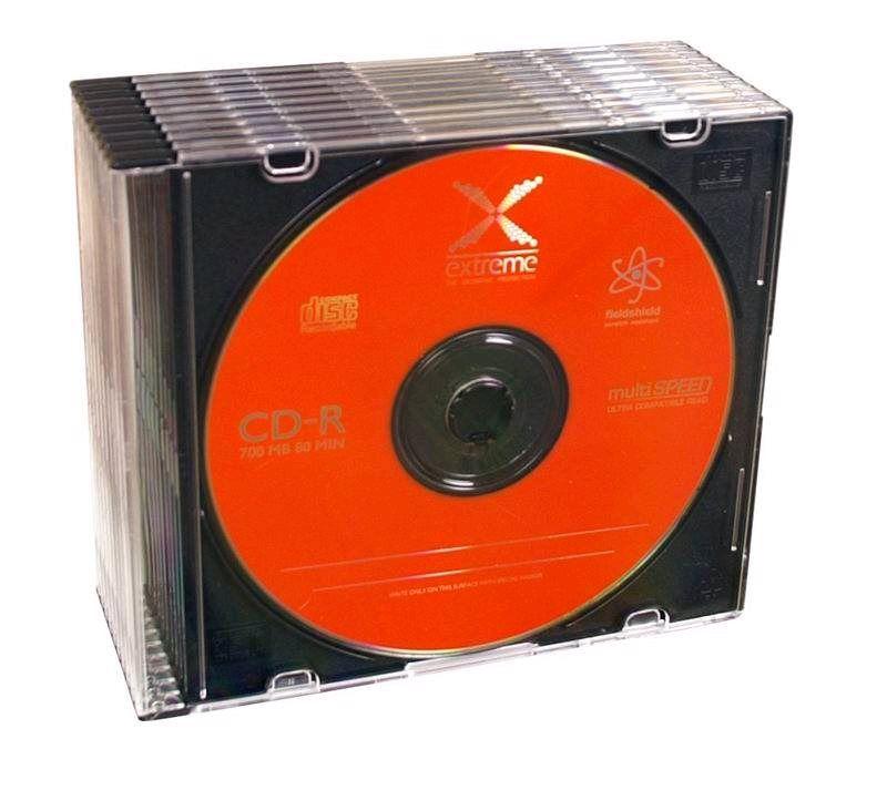 Esperanza 2038 Extreme CD-R 700MB 52x, slim jewel, 10ks