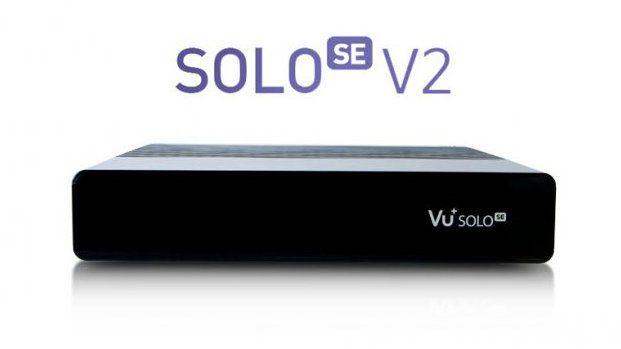 VU+ Solo SE V2 Dual DVB-S2 (černý)
