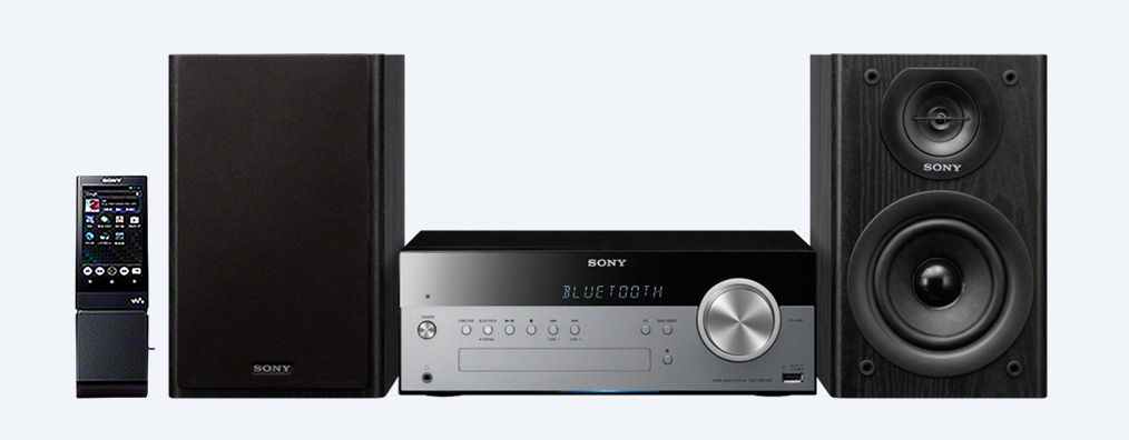 Sony CMT-SBT100 (stříbrno-černý)