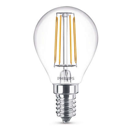 Philips Lighting 4W (40W) P45 E14 WW
