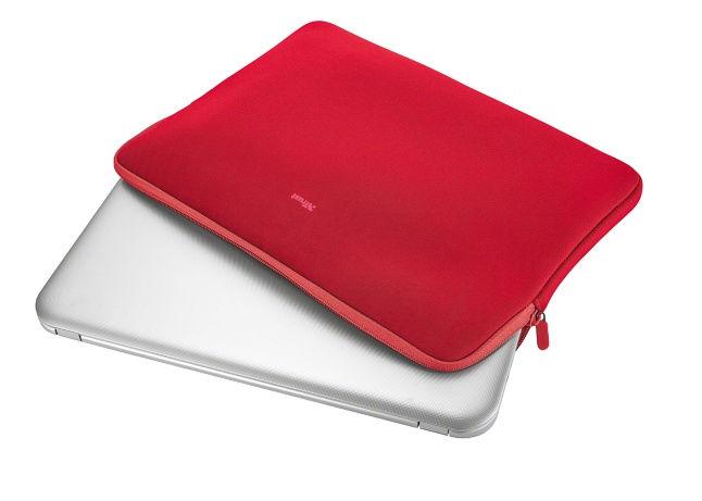 """Trust Primo pouzdro pro notebook, vel. 15,6"""" (červený)"""