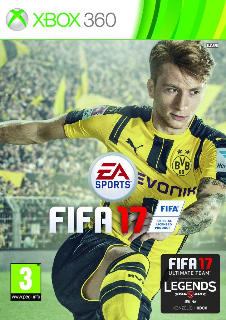 FIFA 17 - Xbox360 hra