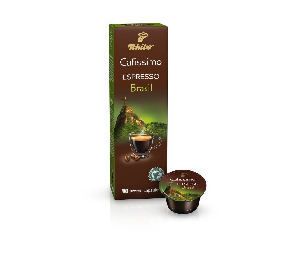Tchibo Cafissimo Espresso Brasil (10ks)