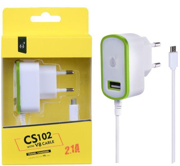 Aligator nabíječka micro USB + USB