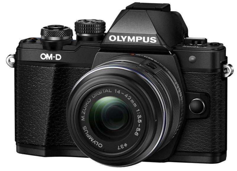 Olympus E-M10 Mark II kit 14-42mm (černý)