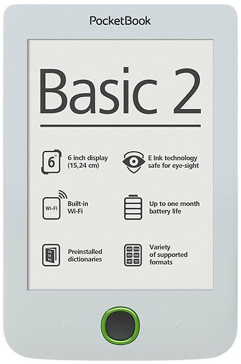 PocketBook Basic 2, 614 (bílá)