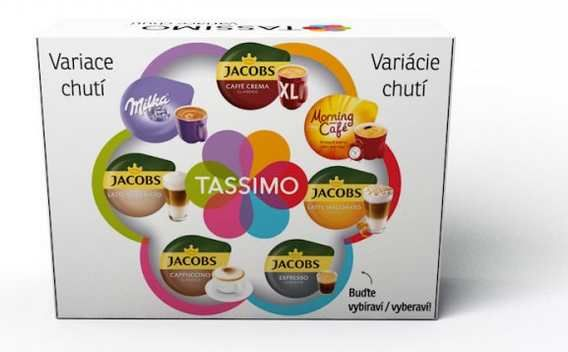 Tassimo Jacobs Variační box (12ks)