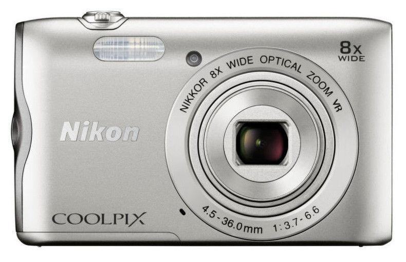Nikon Coolpix A300 (stříbrný)