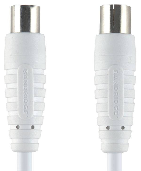 Bandridge BVL8601 Koax kabel, 1m