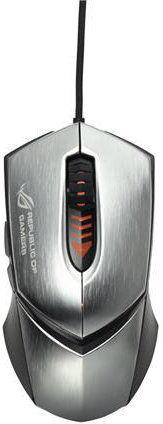 ASUS GX1000 (stříbrná) - herní myš