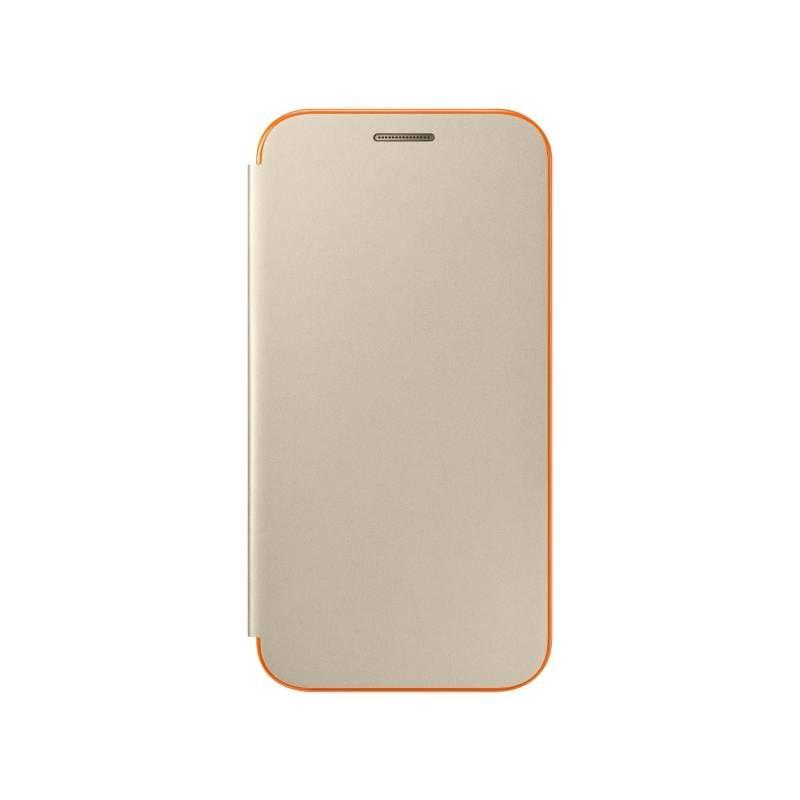 SAMSUNG Flipové pouzdro pro Galaxy A3 Neon (zlatá)