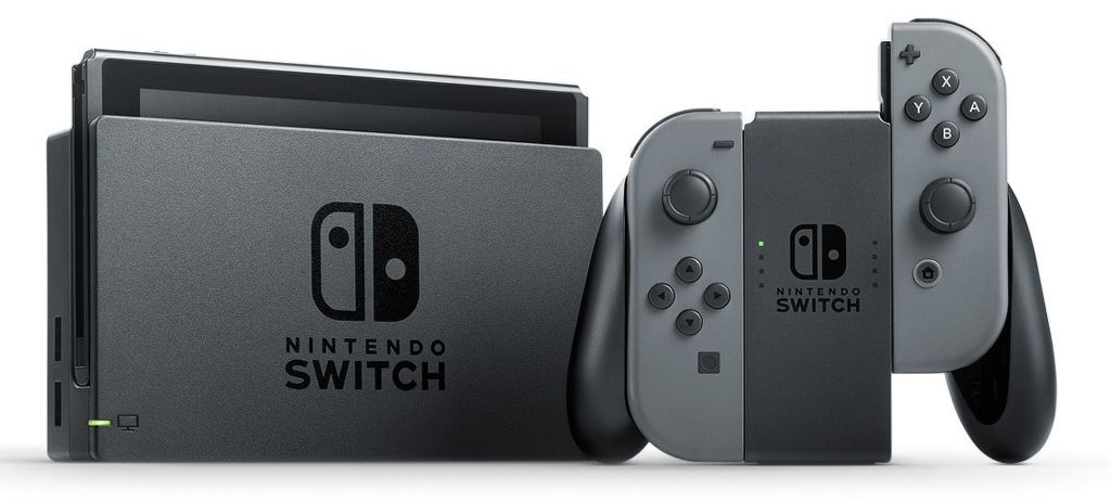 Nintendo Switch Joy-Con šedá