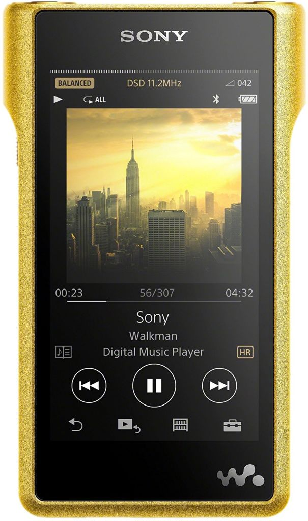 Sony NW-WM1ZN 256GB zlatý