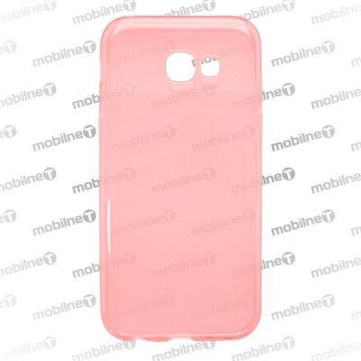 Mobilnet gumové pouzdro pro Samsung A5 2017 růžová