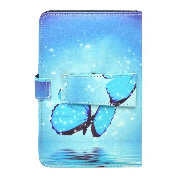 """Mobilnet UNI 7"""" modré tabletové pouzdro klávesnice"""