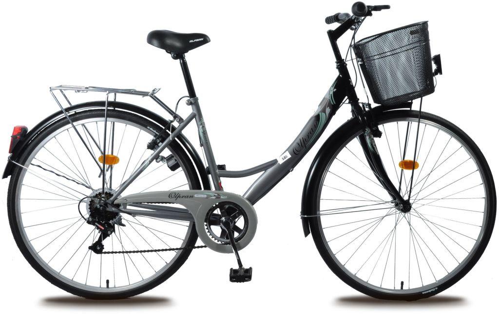 "OLPRAN Mercury Lux 28"", Kolo, šedá-černá"