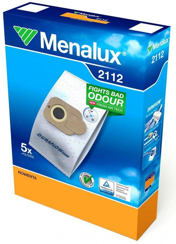 Menalux 2112 Rowenta Silence Force 4A sáčky do vysavače (5ks + filtr)