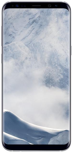 Samsung Galaxy S8+ stříbrný + dárek Samsung EP-NG930BB (černá) zdarma
