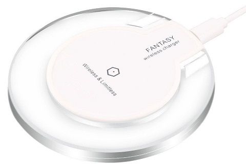 Ja Electronics UFO W-C008 bílá bezdrátová nabíječka