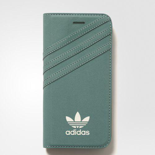 Adidas BI8052 iPhone 7 zelené knížkové pouzdro