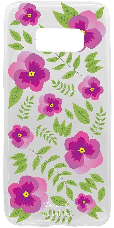 Mobilnet kvety gumové pouzdro na Samsung Galaxy S8