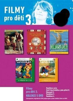 Filmy pro děti 3. - 5 DVD