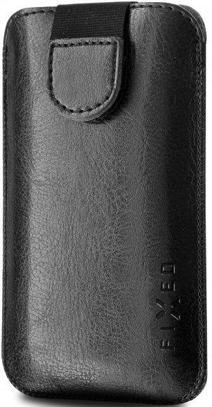 Fixed Soft Slim 5XL+ černé pouzdro se zavíraním