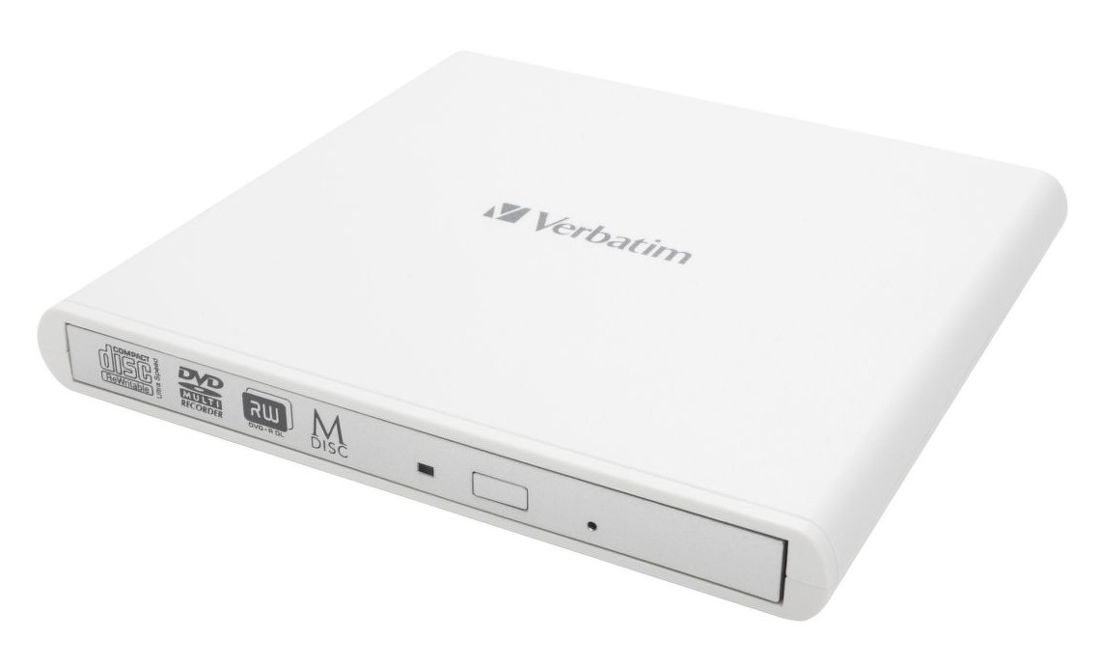 VERBATIM CD/DVD WHT, Ext. DVD mechanika