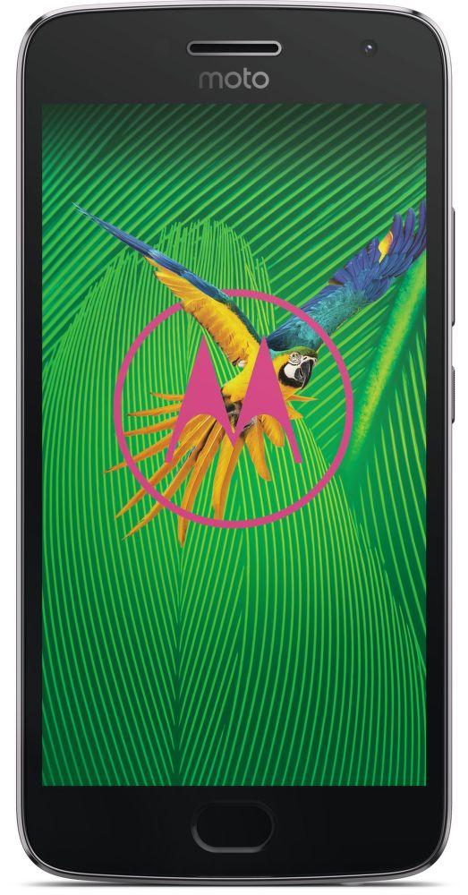 Motorola Moto G5 Plus Dual SIM šedý