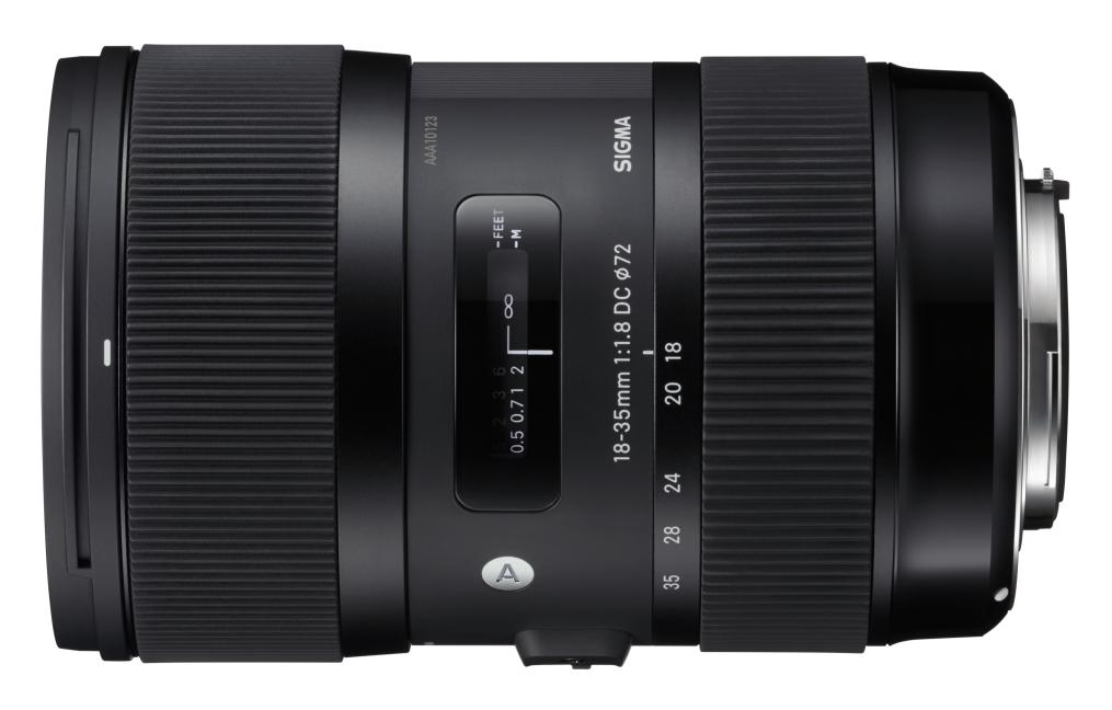 Sigma 18-35/1.8 DC HSM ART objektív bajonet Canon