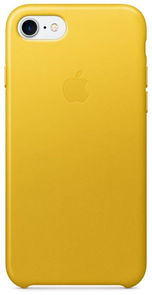 Apple iPhone 7 Leather Case žlutý